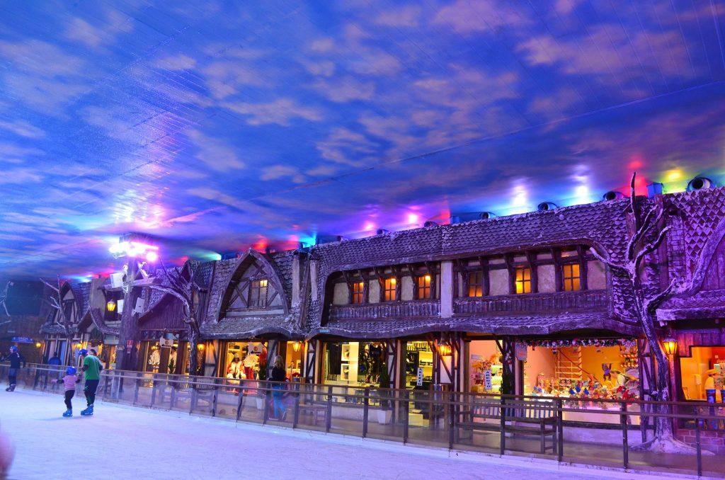 vilarejo alpino
