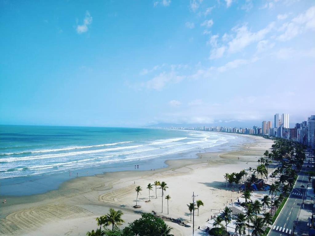 Praia do Canto Forte - Praia Grande