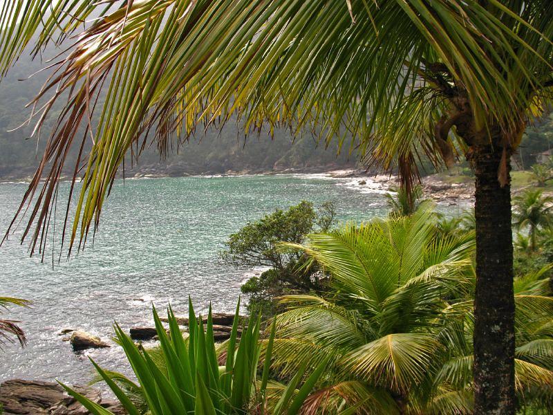 Praia das Calhetas em São Sebastião (SP)