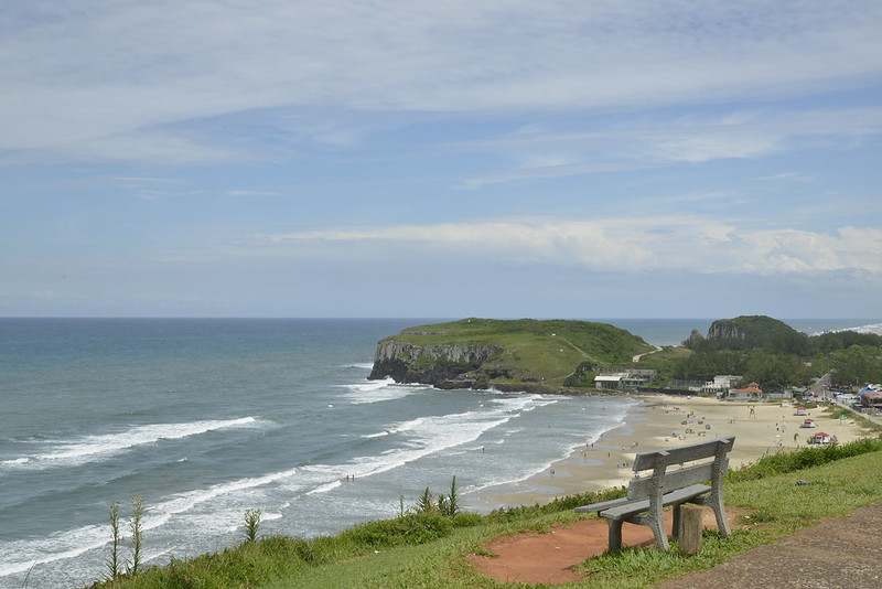 Praia da Cal em Torres no Rio Grande do Sul