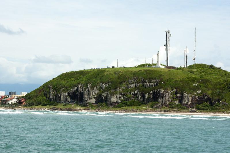 Morro do Farol em Torres no Rio Grande do Sul