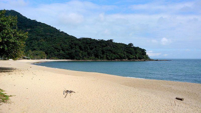 Praia de Boiçucanga em São Sebastião (SP)