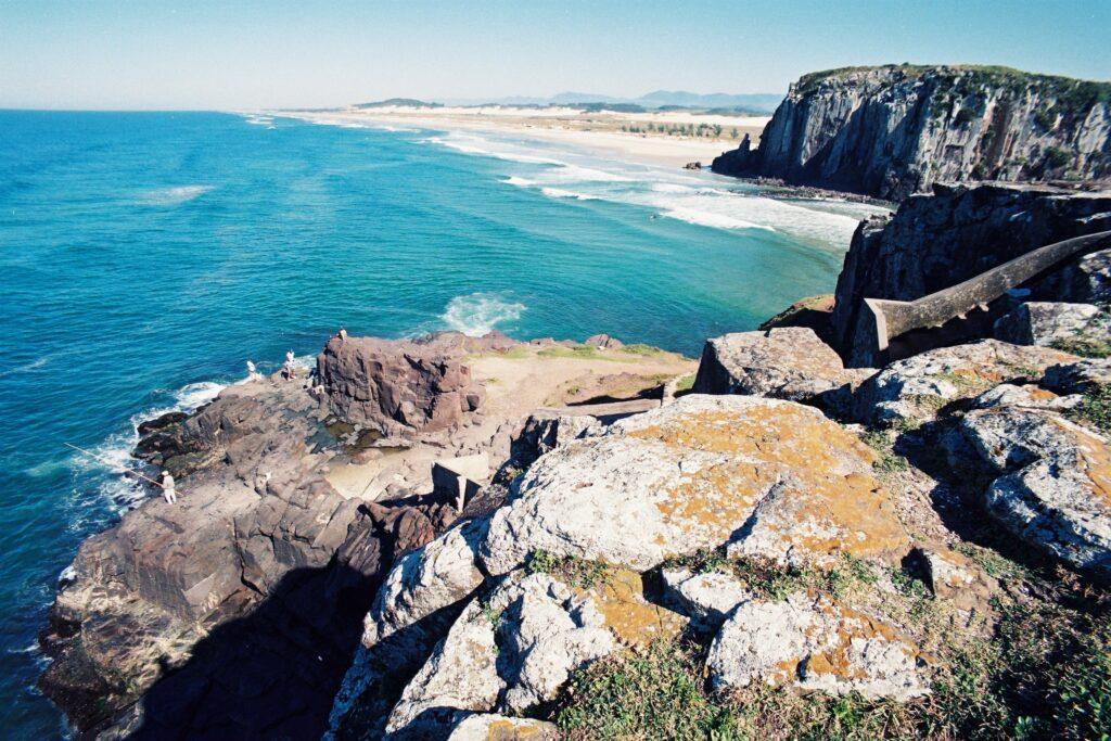 Praia da Itapeva em Torres no Rio Grande do Sul