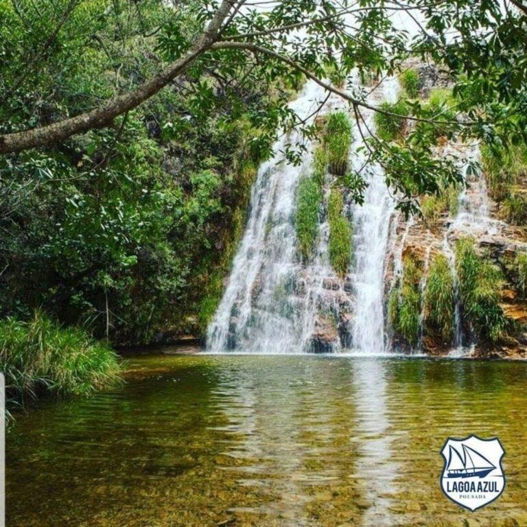 Cachoeira Lagoa Azul em Capitólio em Minas Gerais
