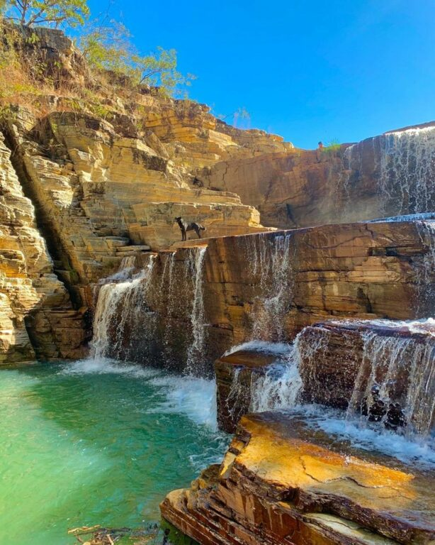 Canyon Cascata Eco Parque em Capitólio em Minas Gerais