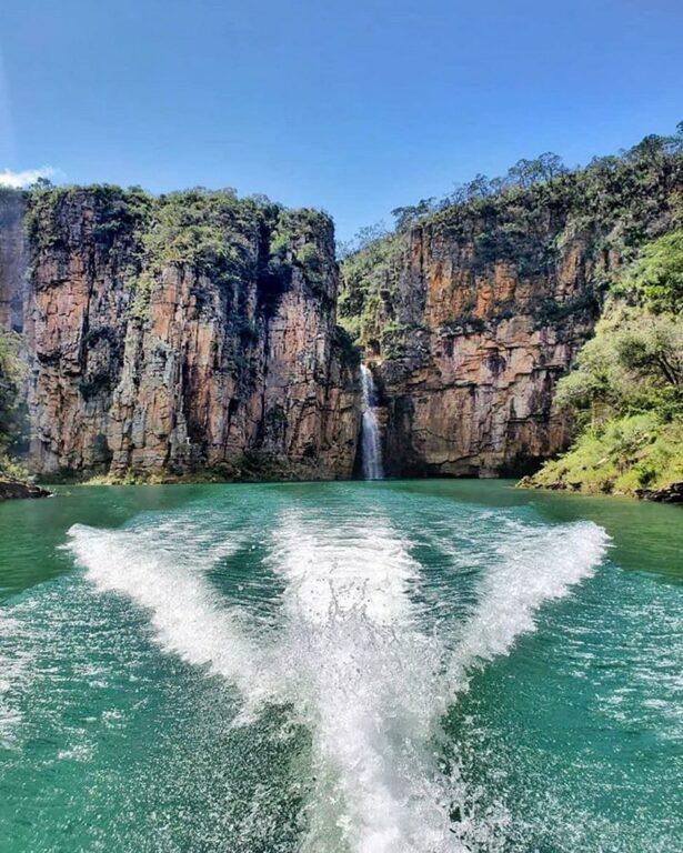 Canyon de Furnas em Capitólio em Minas Gerais