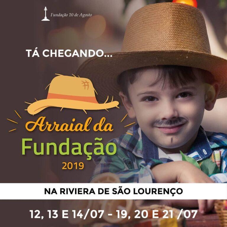 garotinho com roupa de São João para o arraial da fundação no Riviera Shopping em Bertioga